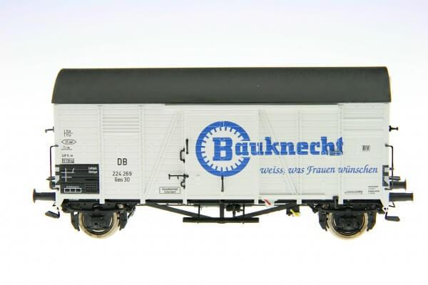 """BRAWA 47928 Gedeckter Güterwagen Gms 30 """"Bauknecht"""" der DB"""