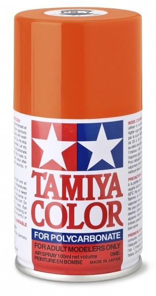 TAMIYA 300086007 PS-7 Orange Polycarbonat 100ml