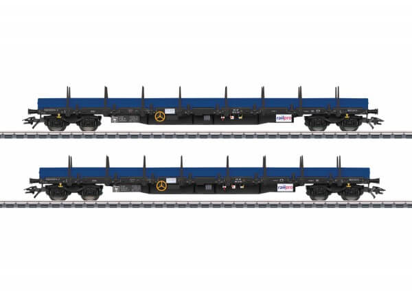 Märklin 47027 Niederbordwagen-Set Regs