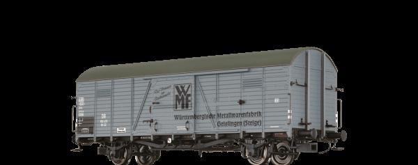 """BRAWA 48717 GEDECKTER GÜTERWAGEN GLR22 """"WMF"""" der DB"""