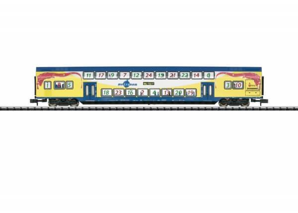 Minitrix 15396 Doppelstockwagen 2. Klasse Metronom