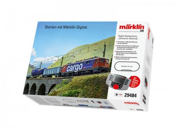 Märklin Digital-Startpackung Schweizer Güterzug mit Ae 610