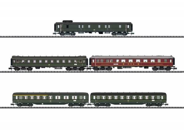 """Minitrix 15680 Schnellzug-Wagenset """"D 182"""" Hannover - Köln"""