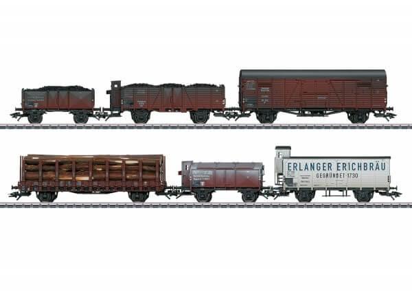 Märklin 46088 Güterwagen-Set DRG gealtert