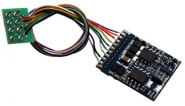 ESU LokPilot V4.0 M4, Multiprotokoll MM/DCC/SX/M4, 8-pol. Stecker NEM652, Kabelbaum