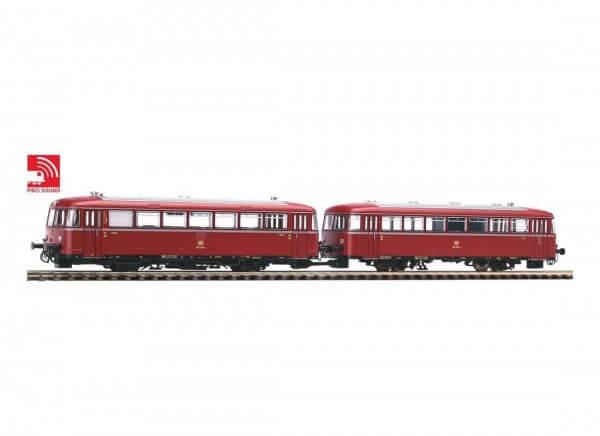 PIKO 52722 Schienenbus 798 + Steuerwagen 998.6 mit Sound-Decoder