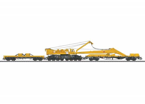 Märklin 49954 Kranwagen Bauart 100 mit Auslegerschutzwagen Bauart 817