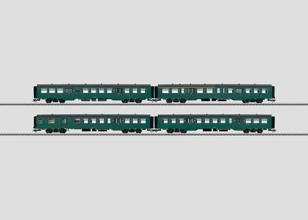 Märklin 43544 Nahverkehrswagen-Set Serie M2