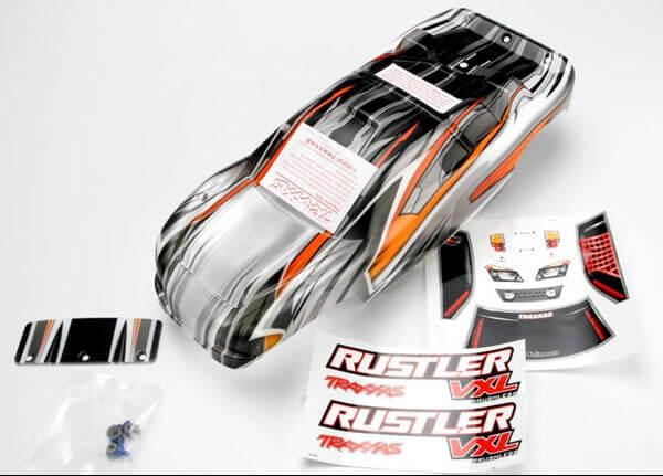 TRAXXAS® 3715 Karosserie Rustler ProGraphix für dein exklusives Design