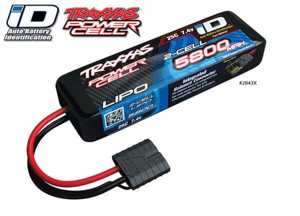 TRAXXAS® 2843X iD™ LiPo POWER CELL 5800 mAh