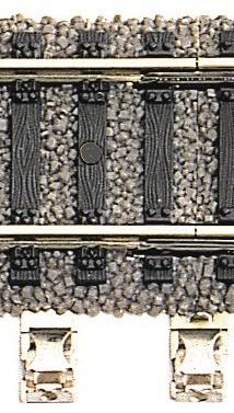 FLEISCHMANN 6430 Anschlussklemme 2-polig für H0 Profi Gleis