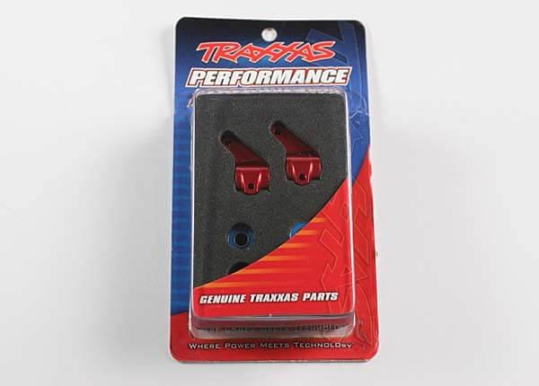 TRAXXAS® 3636X Lenkhebel Aluminium rot mit Kugellagern