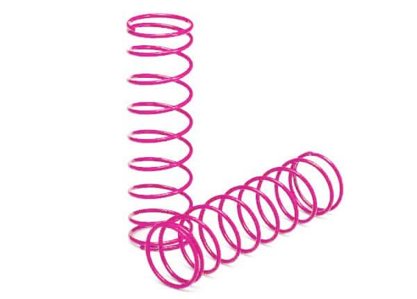 TRAXXAS® 2458P Dämpfer Federn vorne pink für Ultra Shocks