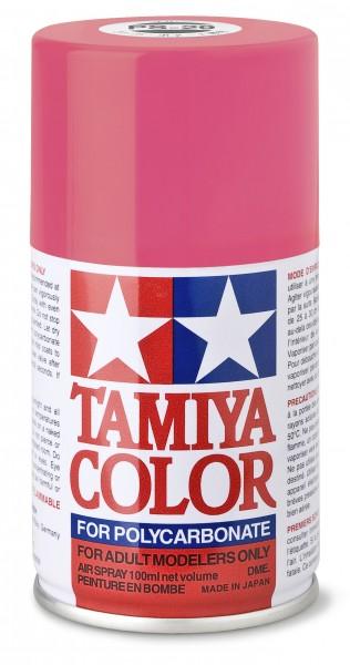 TAMIYA 300086029 PS 29 NEON-ROSA Polycarbonat 100ml