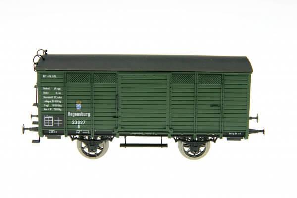 BRAWA 48023 Gedeckter Güterwagen G der Königlich Bayerischen Staatseisenbahn
