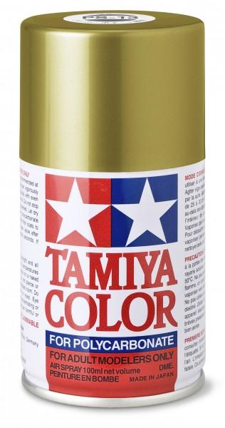 TAMIYA 300086013 PS-13 Gold Polycarbonat 100ml