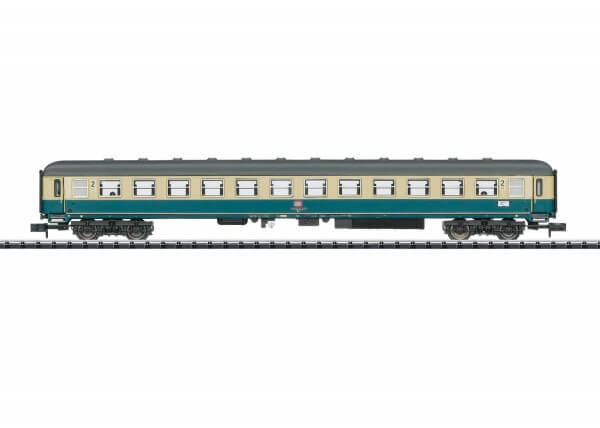 """Minitrix 15743 Personenwagen 2. Klasse Bm 234 zum """"Eilzug Moseltalbahn"""" der Deutschen Bundesbahn"""