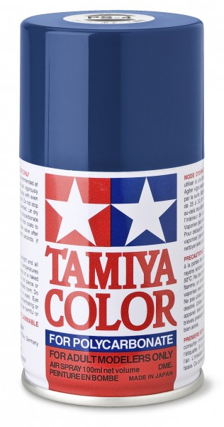TAMIYA 300086004 PS-4 Blau Polycarbonat 100ml