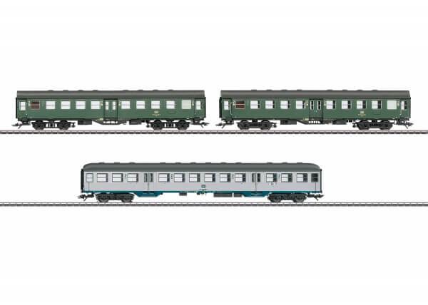 Märklin 41322 Eilzugwagen-Set 2 Byg 514, Bnb 719