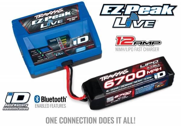 TRAXXAS® 2993G 8S Combo mit EZ-Peak Live iD™ und Bluetooth®