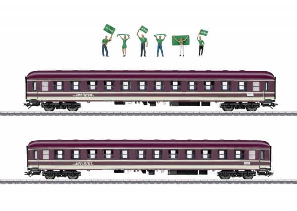 Märklin 43946 Zwei Abteilwagen Bm der Euro-Express Sonderzüge GmbH & Co. KG.