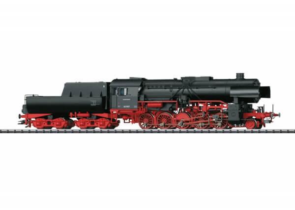 TRIX 22224 Schwere Güterzug-Dampflokomotive BR 42, mit Wannentender