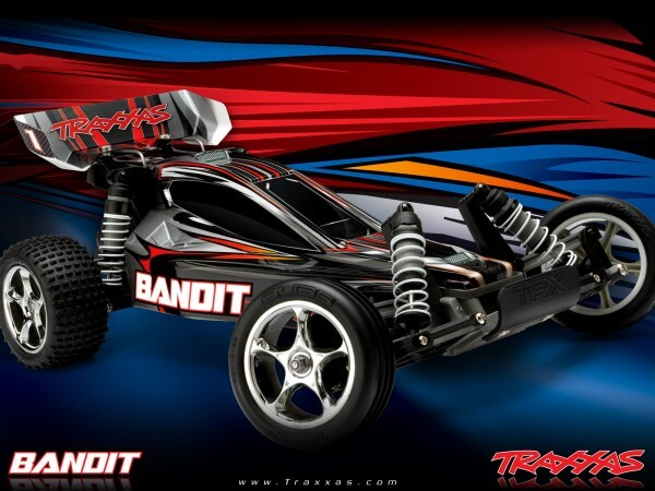 TRAXXAS® The Fastest Name in Radio Control Bandit XL-5 silber