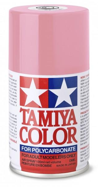 TAMIYA 300086011 PS-11 Rosarot Polycarbonat 100ml
