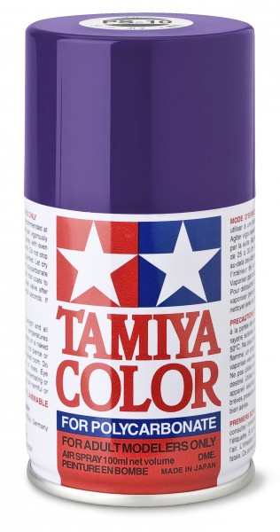 TAMIYA 300086010 PS-10 Violett Polycarbonat 100ml