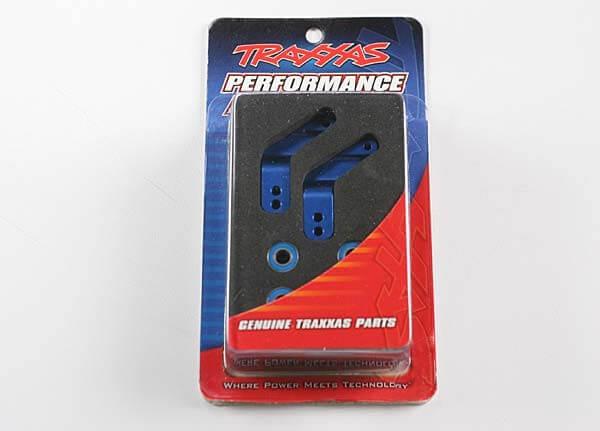 TRAXXAS® Radträger hinten 2 Stück aus Aluminium in blau