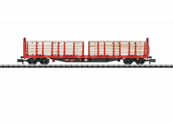 Minitrix 15650 Rungenwagen Roos 639 der DB AG beladen
