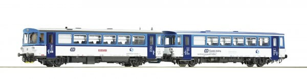 Roco 70379 H0 Dieseltriebwagen 810 472-1 mit Beiwagen DCC SOUND