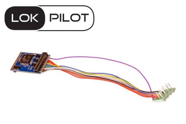 ESU 59610 LokPilot 5 DCC/MM/SX/M4 - 8-pin NEM652
