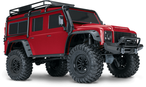 TRAXXAS® 82056-4R TRX4 Scale & Trail Crawler rot 1/10