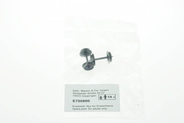 Märklin E700600 Gleichstrom Radsätze Stummelachse lang