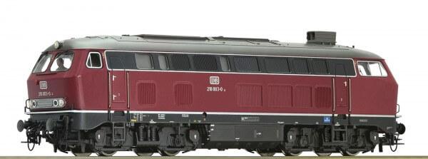 Roco 79731 Diesellokomotive 210 003 der DB mit Sound