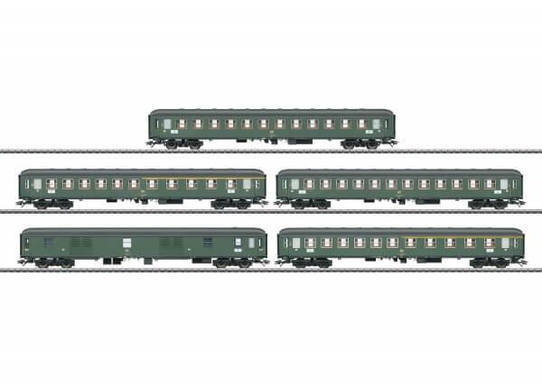 Schnellzugwagen-Set für Schnellzug D 360