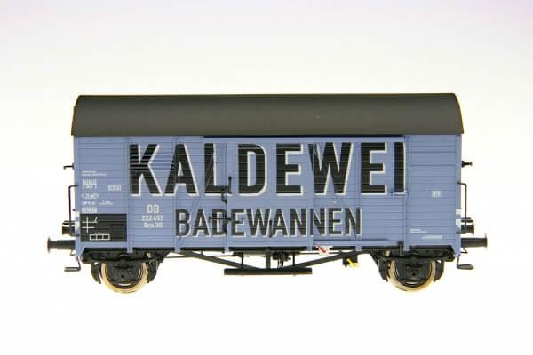 """BRAWA 47924 Gedeckter Güterwagen Gms 30 """"Kaldewei"""" der DB"""