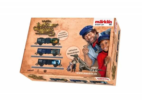 """Märklin 44817 Märklin Start up Offenes Güterwagen-Set """"Nepomuk, Frau Mahlzahn und die Wilde 13"""""""