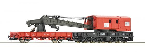 Roco 56240 Kranwagen mit Schutzwagen, DB AG