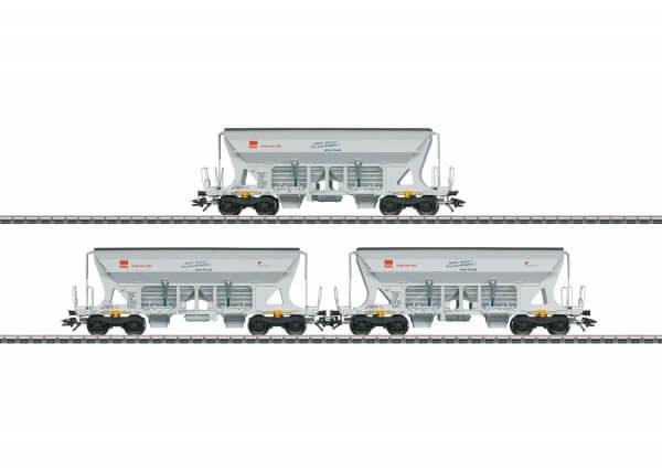 Schüttgutwagen-Set Faccns HVLE