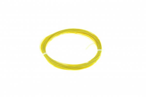 ESU 51947 Hochflexibles Kabel, Durchmesser 0,5mm, AWG36, 10m Wickel, Farbe gelb