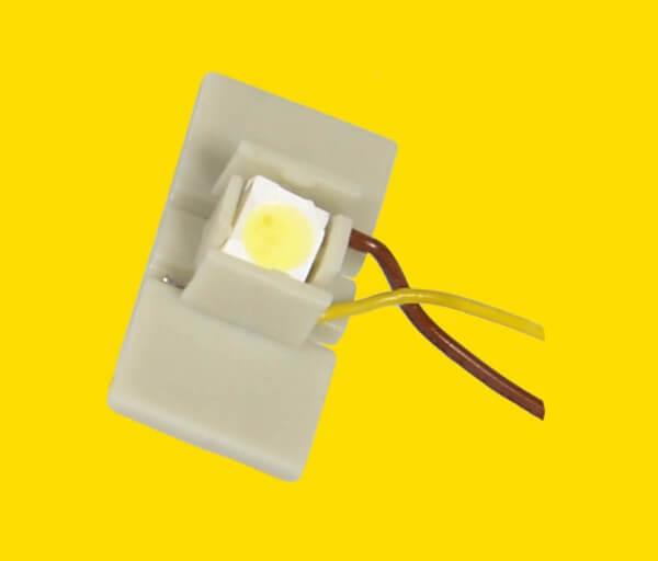 Viessmann 6047 LED für Etageninnenbeleuchtung gelb10 Stück
