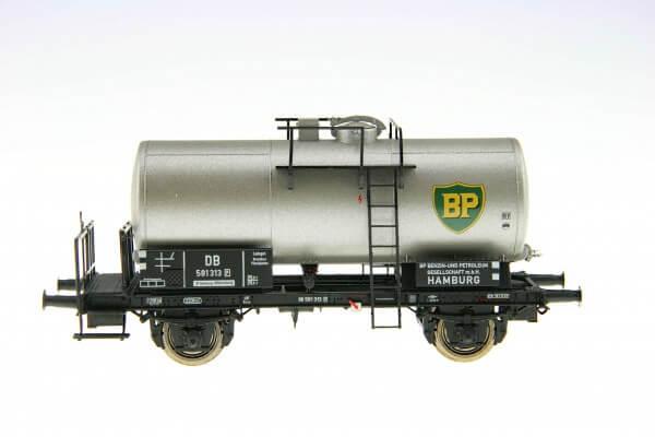 """BRAWA 48890 2-achsiger Kesselwagen """"BP"""" der DB"""