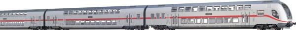 BRAWA 44507 TWINDEXX Vario® IC-Doppelstock-Wagenset 3er-Einheit