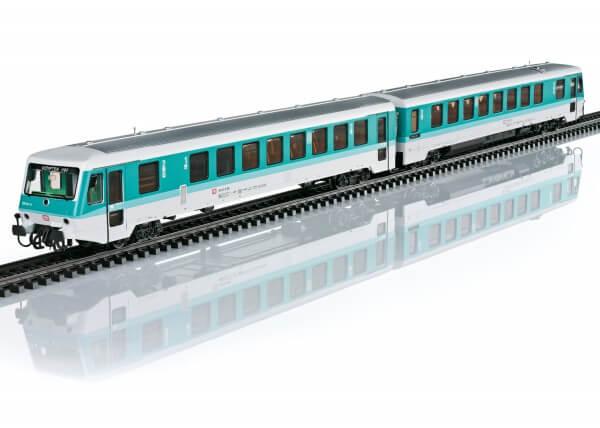 Märklin 37728 Dieseltriebwagenzug Baureihe 628.2 mit Steuerwagen 928.2