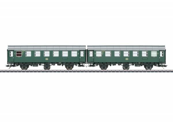 Märklin 43184 Reisezugwagen-Paar B3ygeb mit Innenbeleuchtung
