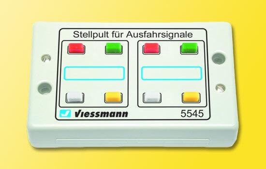 Viessmann 5545 Tasten-Stellpult 4-begriffig