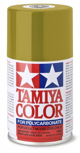TAMIYA 300086056 PS-56 Mustard Yellow Polycarbonat 100ml
