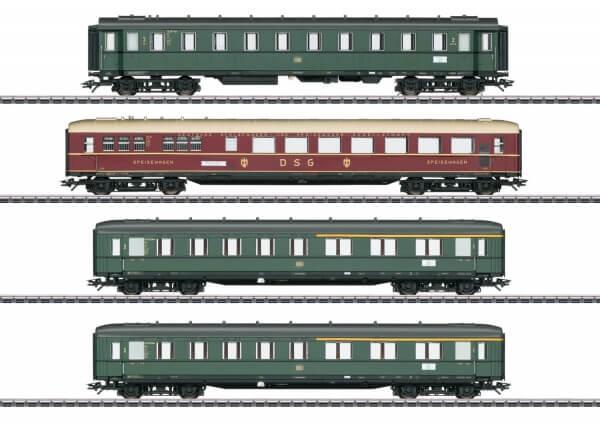 Märklin 43279 Schnellzugwagen-Set mit Innebeleuchtung